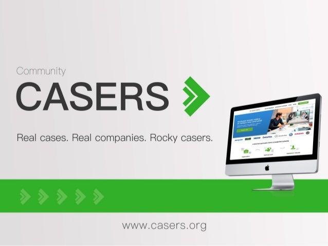 Casers.org Web-платформа для решения кейсов