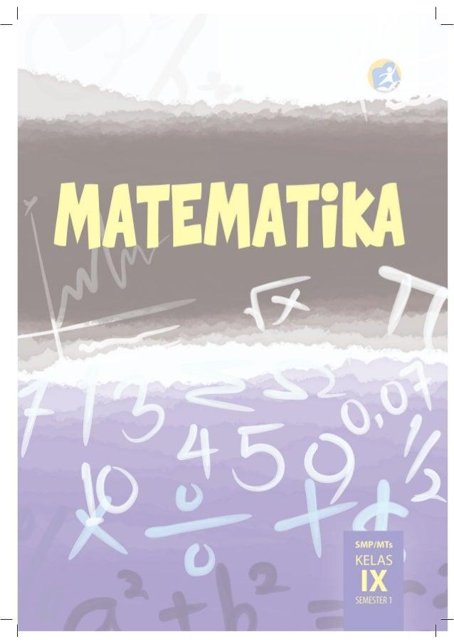 Buku Matematika Smp Kelas 9 Semster 1 Kurikulum 2013