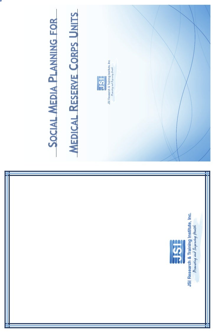This workbook was created by Alyson Cobb and Arielle Slam of JSI Research andTraining Institute, Inc. (JSI) for the 2011 R...