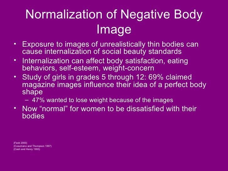 the effects of body image displays on self esteem The effects of positive and negative self-presentation and negative self-presentation between body image and self-esteem body image is.