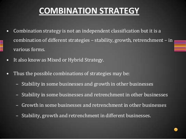 combination strategy