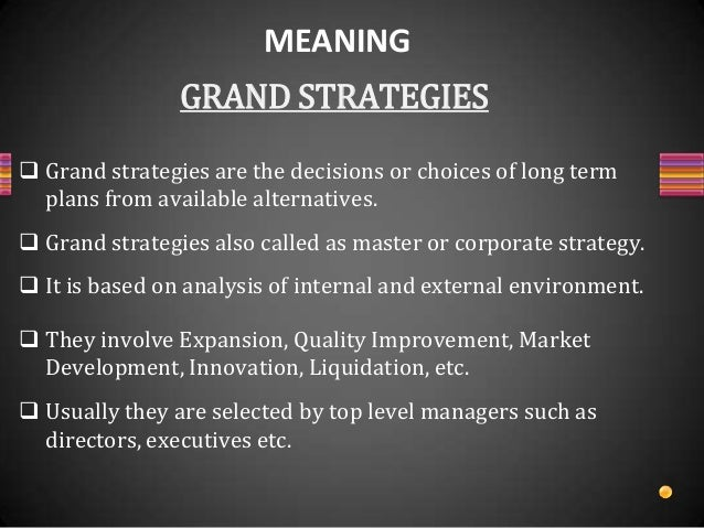 retrenchment and combination strategy Combination strategy is followed when an organisation adopt mixture of stability, expansion, and retrenchment,either at same time to different businesses or at different times in the same business with the aim of improving its performance.