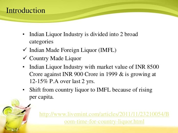 liquor industry introduction ˙ the seven key messages of the alcohol industry 2 introduction the alcohol and tobacco industry sell products that can be dangerous to our health.