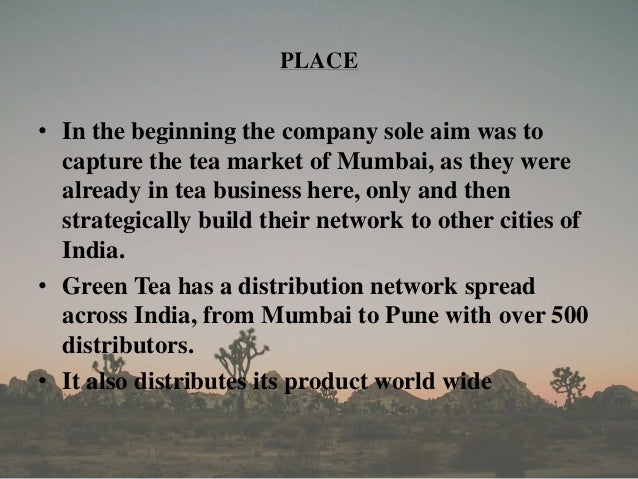 4ps analysis of lipton tea Swot analysis – tetley tea which is also why the swot analysis will be different compared to kusmi tea this commercial is about the bottled lipton ice tea.