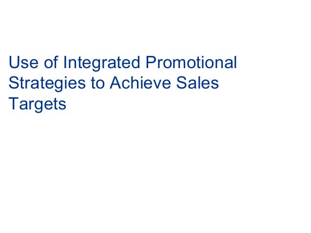 How to achieve sales target