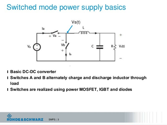 troubleshooting switched mode power supplies with a digital oscillosc rh slideshare net Switching Power Supply Schematic Three-Phase Power Supply Switching