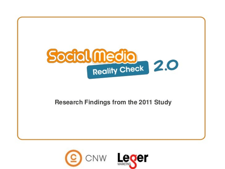 1<br />Research Findings from the 2011 Study<br />