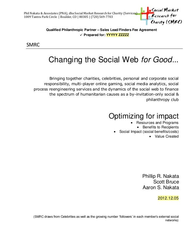 SMRC finders fee agreement_template 12 2012