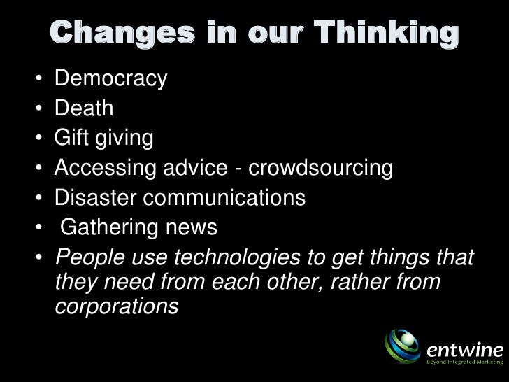 Social Media Revolution 2010 - Synergy Session #1 Slide 3