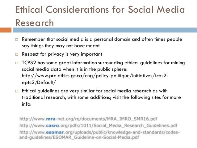 ethical considerations in social research Download ethical guidance  controls, or causes economic or social  critical engagement with ethical considerations in research requires.