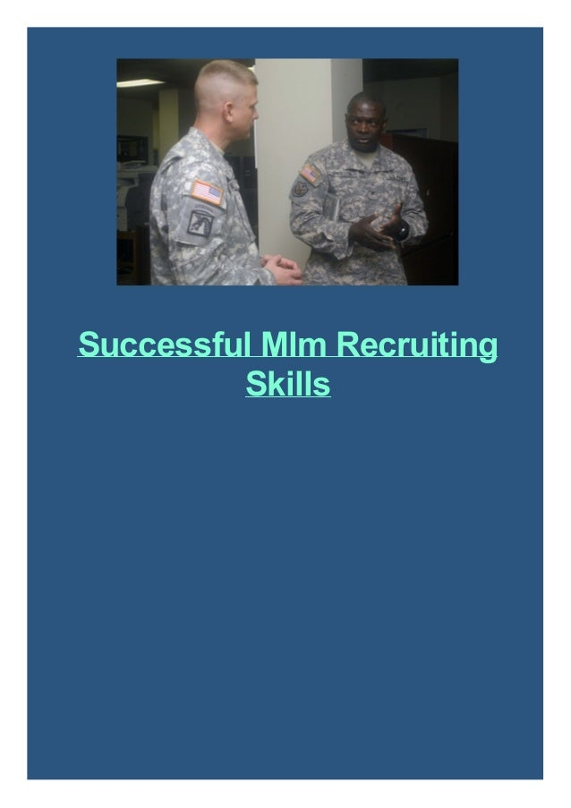Successful Mlm Recruiting Skills
