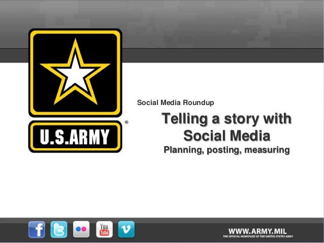 Social Media Roundup Telling a story with Social Media Planning, posting, measuring