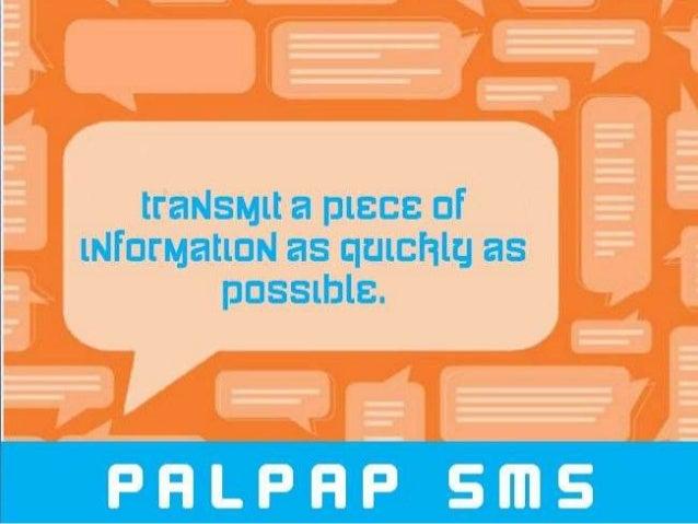 PALPAP SMS