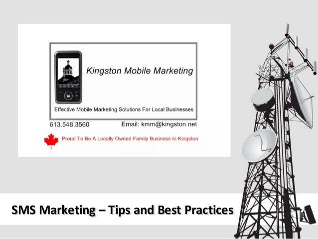 SMS Marketing – Tips and Best Practices
