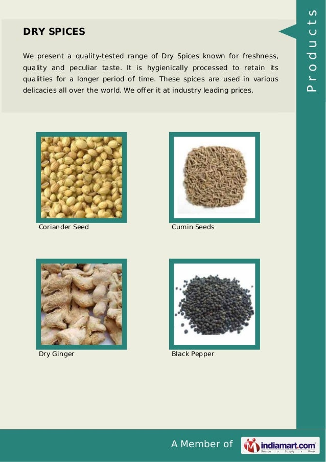 SMS Spices & Exporters, Rajkot, Real Spices Slide 3