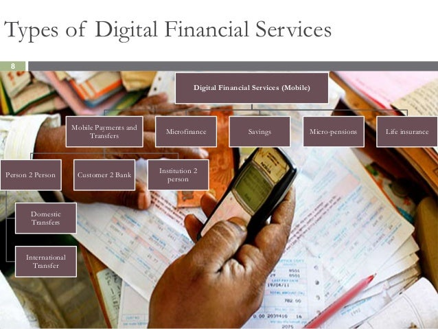 Sms based reporting and digital financial services