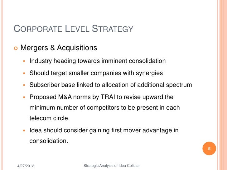swot analysis of idea cellular Idea cellular limited (idea) - financial and strategic swot analysis review provides you an in-depth strategic swot analysis of.