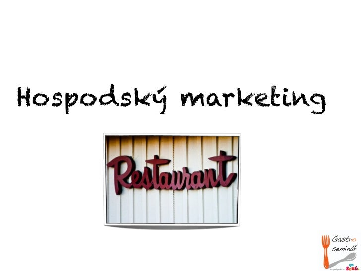 Hospodský marketing