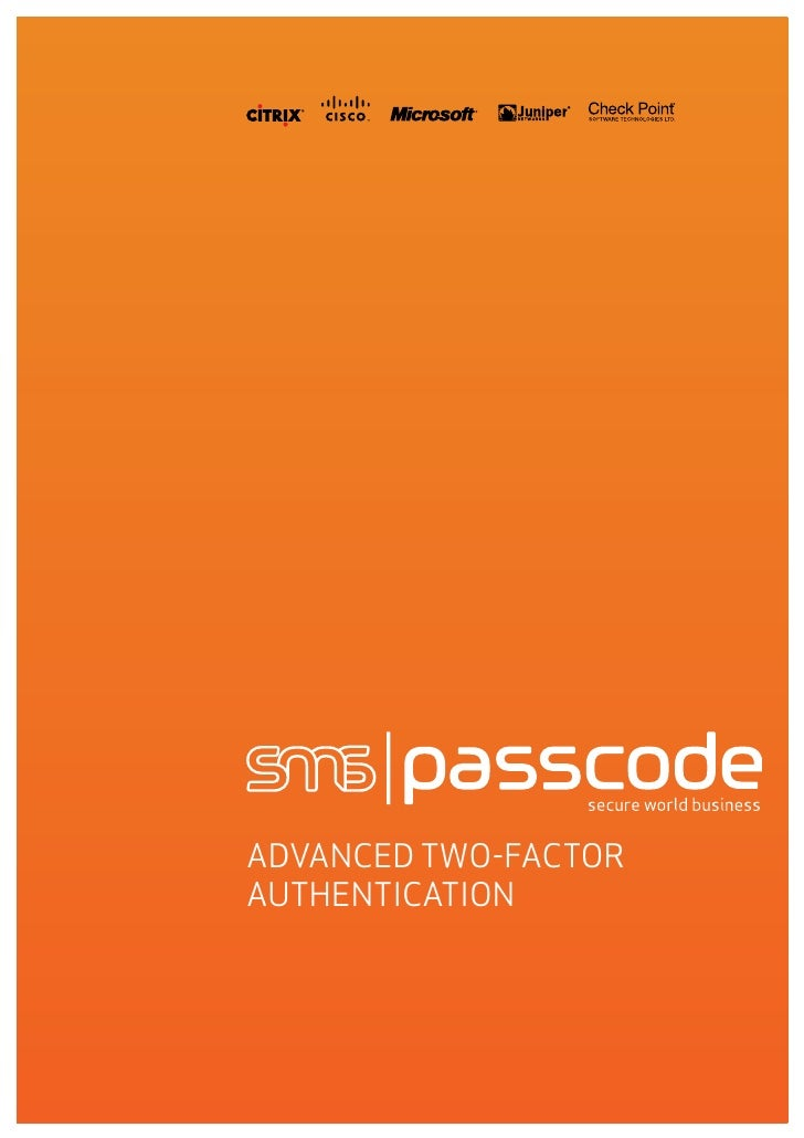 ADVANCED TWO-FACTOR AUTHENTICATION