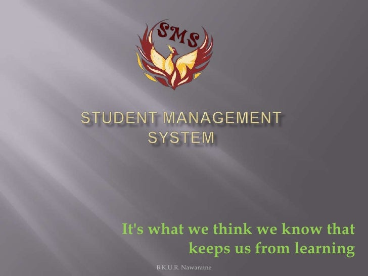 Its what we think we know that          keeps us from learning    B.K.U.R. Nawaratne