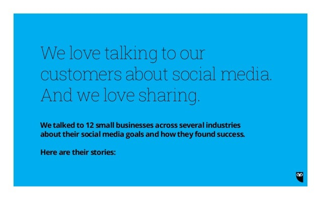 12 Small Businesses That Found Success on Social Media Slide 2
