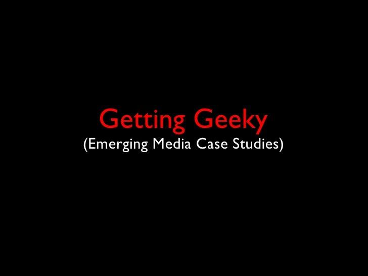 Emerging Media in the Non-Profit Arena Slide 17