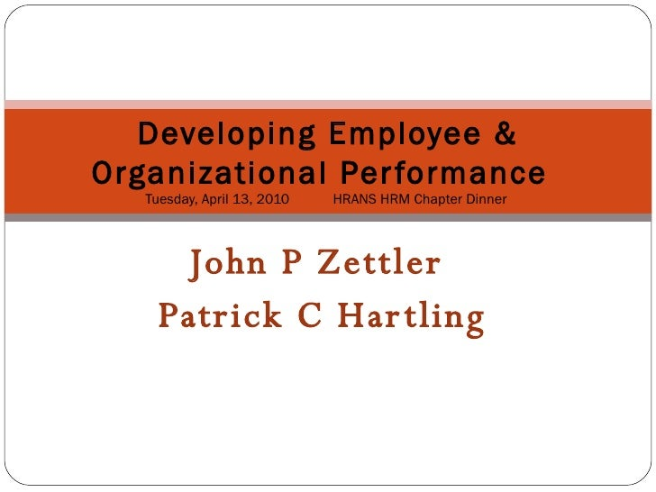 an analysis of employee development as important to both the employee and the organisation Workplace resources to improve both employee well-being and performance: a systematic review and meta-analysis karina nielsen sheffield university management school, university of sheffield, sheffield, uk correspondence kmnielsen@sheffieldacuk.