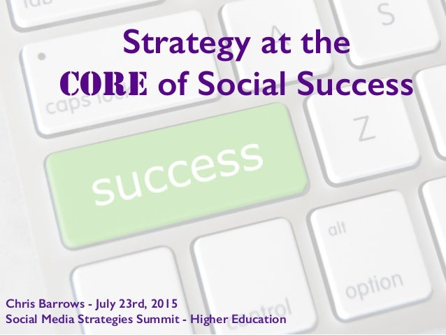 Strategy at the 