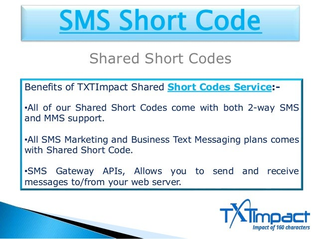 SMS Short Code Service | Free Short Codes | Short Codes Service