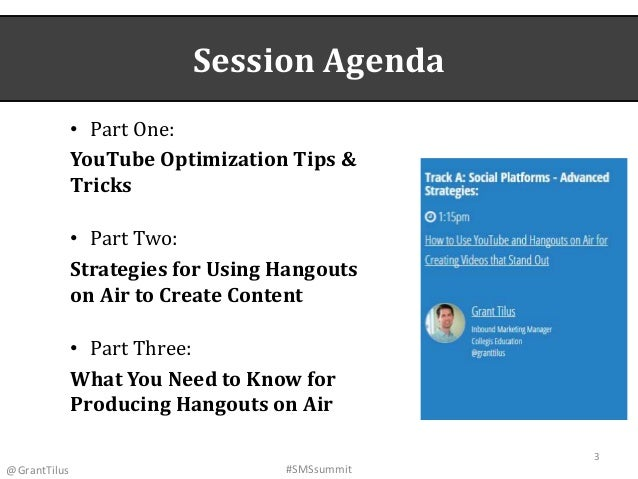 How to Use YouTube & Hangouts on Air for Creating Videos That Stand Out Slide 3