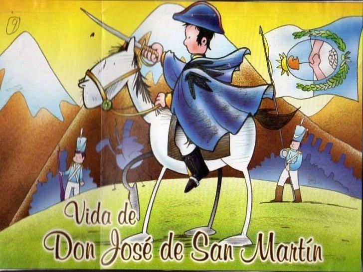 San Martín fue un niño como ustedes ,que creció al lado de su mamá. Gregoria Matorra y su papá don Juan de San Martín y ci...