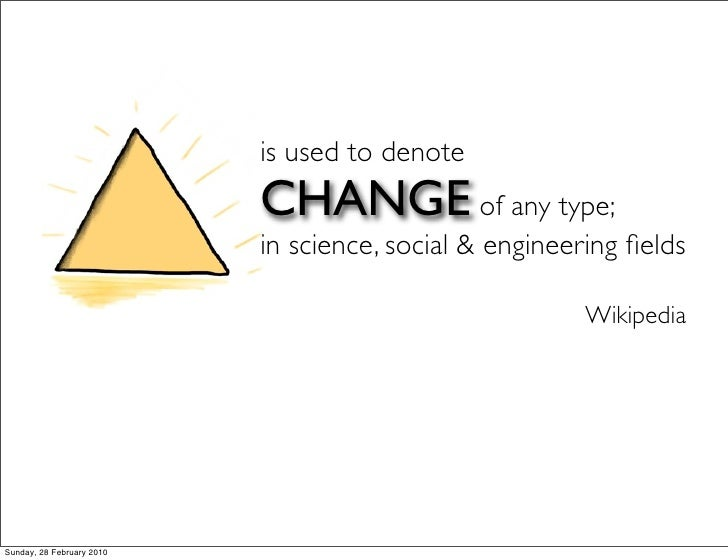 Show Me The Change - Approach Slide 3