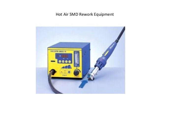 Hot Air SMD Rework Equipment