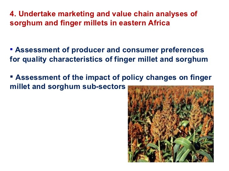 an analysis and evaluation of sorghum Evaluation of sorghum (sorghum bicolor (l) moench) varieties, for yield and  yield  according to the result of analysis of variance for mean.