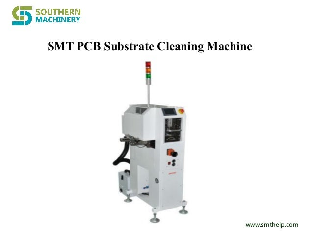 Smt pcb substrate cleaning machine