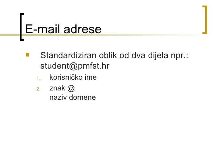 Odgovaranje na internetske poruke e-pošte