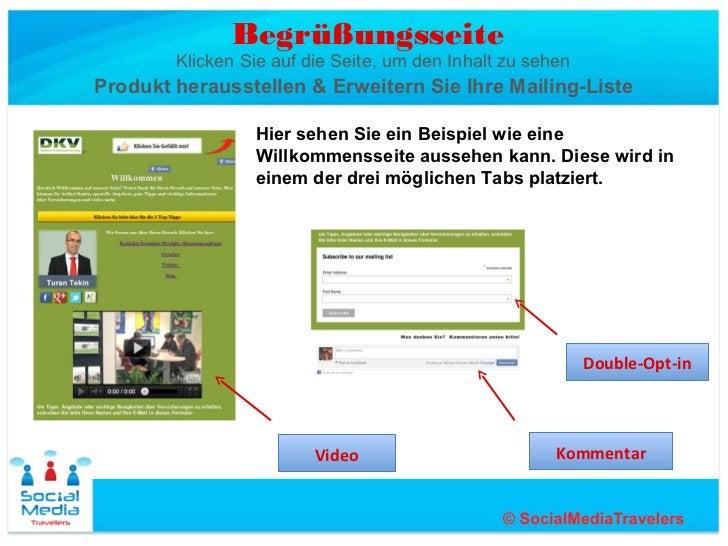 Begrüßungsseite        Klicken Sie auf die Seite, um den Inhalt zu sehenProdukt herausstellen & Erweitern Sie Ihre Mailing...