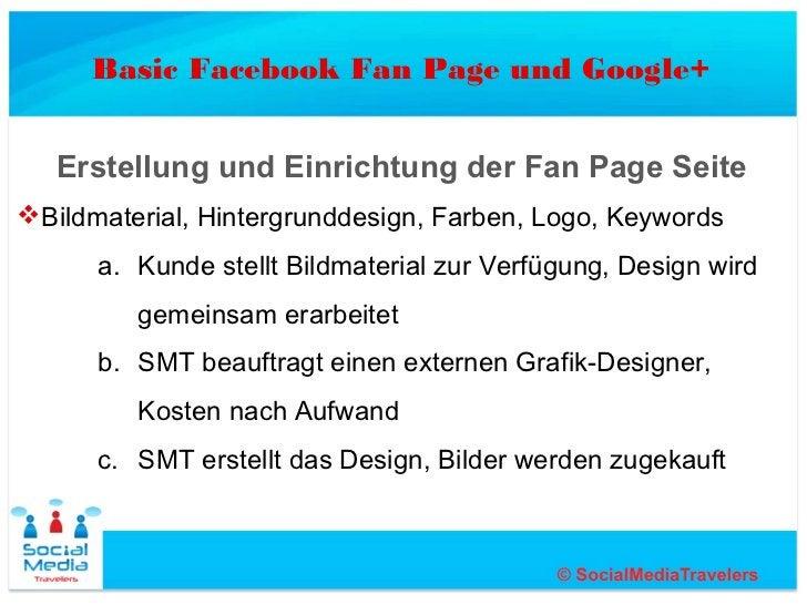 Basic Facebook Fan Page und Google+   Erstellung und Einrichtung der Fan Page SeiteBildmaterial, Hintergrunddesign, Farbe...