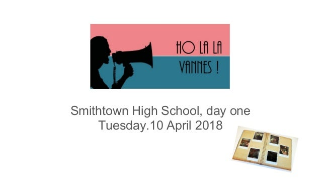Smithtown High School, day one Tuesday.10 April 2018