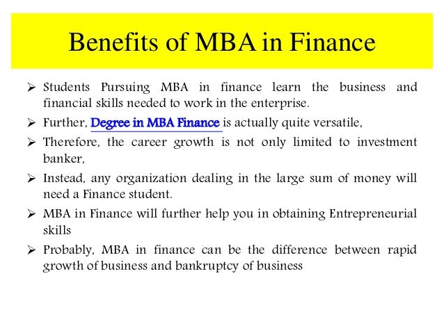 pursuing an mba will further my To mba or not to mba more engineers who are interested in management, or starting their own companies, are pursuing mba degrees to increase their professional opportunities within the industry many universities are now offering dual-degree master of science engineering (mse) and mba programs.
