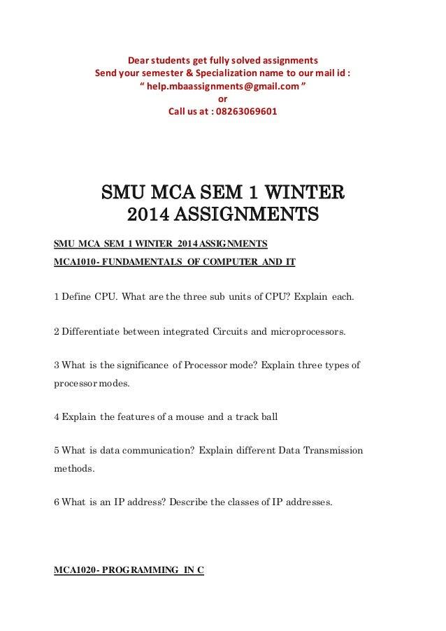 SMU Orientation