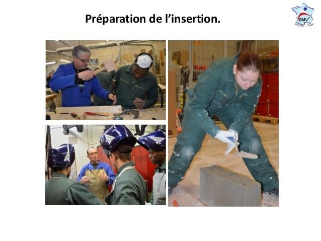 Préparation de l'insertion.