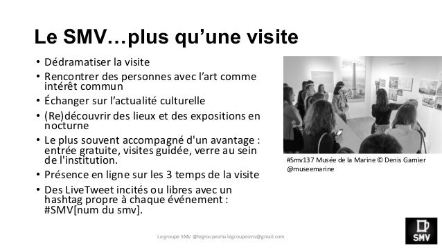 Rencontre Musées et Numérique FenS 2014 - Présentation SMV Slide 3