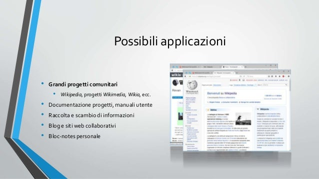 Dalle piattaforme wiki a wikipedia l 39 enciclopedia online - Narrami o diva ...