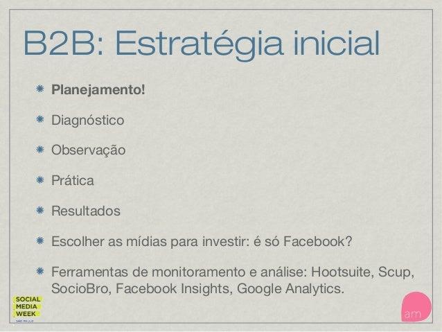 B2B Social media Desafios
