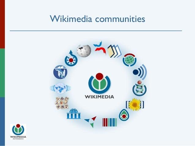 Wikimedia communities