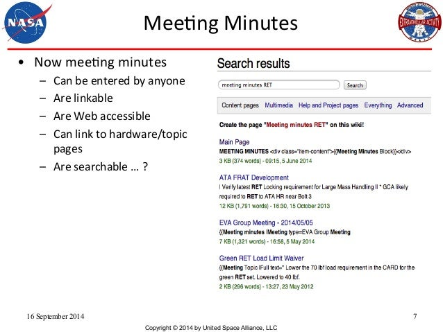 Meeting Minutes Group Communication Daren Welsh SMWCon Fall 2014 – Meeting Minutes Template Pages