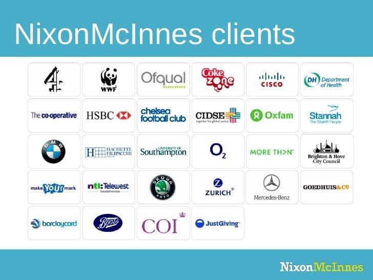 NixonMcInnes clients