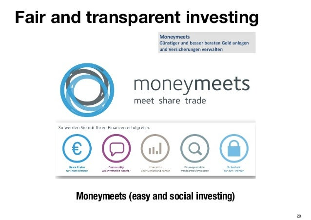 20 Fair and transparent investing Moneymeets (easy and social investing)