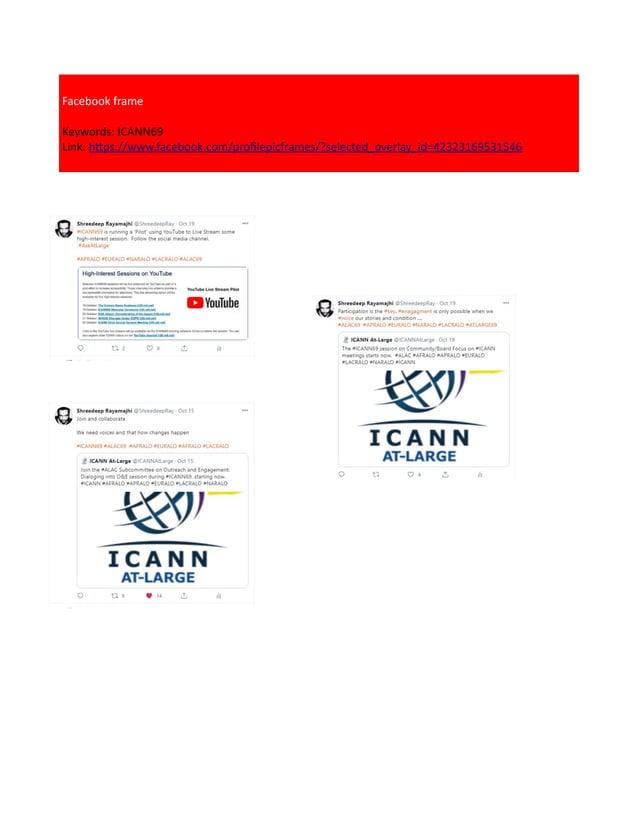 Facebook frame Keywords: ICANN69 Link: https://www.facebook.com/profilepicframes/?selected_overlay_id=42323169531546